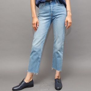 Levi's big E wedgie fit jeans straight cut